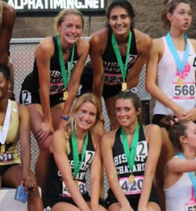 Relay Team at the state