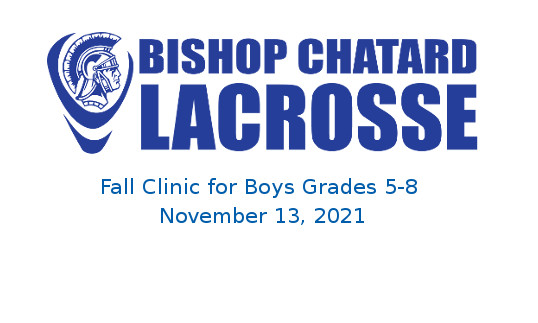 Registration is open for the Nov. 13 Boys Lacrosse Fall Clinic for boys grades 5-8