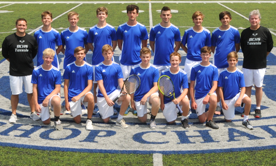 BOYS TENNIS TEAM 2018