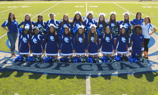 VARSITY CHEERLEADERS 2018