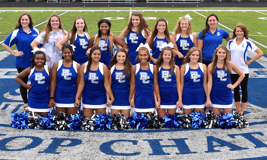 VARSITY CHEERLEADERS 2019