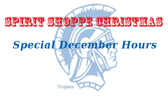 Christmas Spirit at the Spirit Shoppe- Special Hours, Volunteers Needed