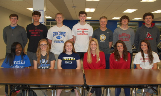 Class of 2019 Trojans head to Collegiate Sports
