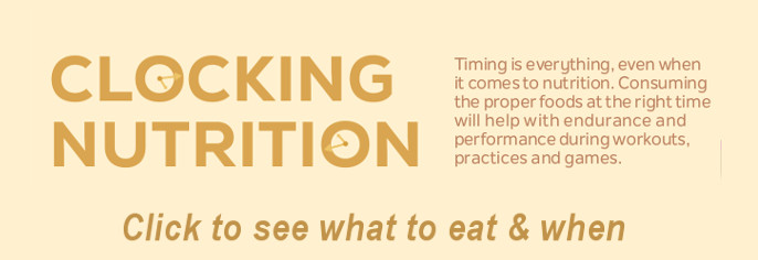 Click to view tips on timing your eating for the best nutrition