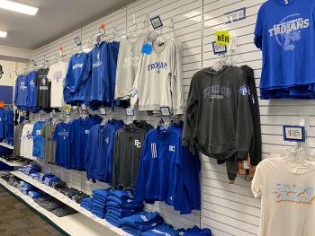 BCHS Spirit Shoppe Display