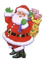 Drawing of Santa