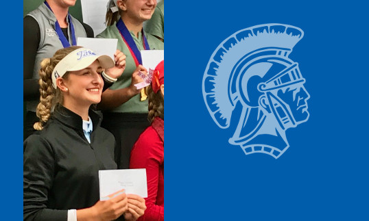 Maggie Schaffer: 1st place in 2018 Golf Regionals