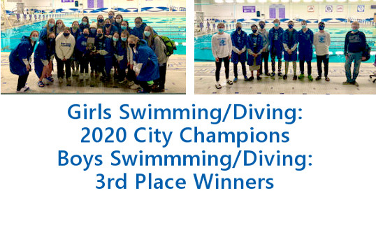 Congratulations! Girls City Swimming/Diving Champions