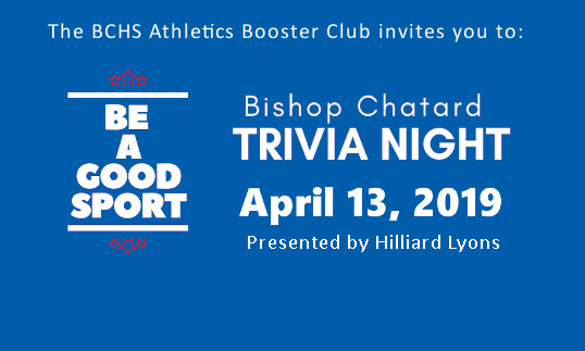 Come and Play! Be A Good Sport Trivia Night is April 13. <br>Your host for the evening is Pat Sullivan.