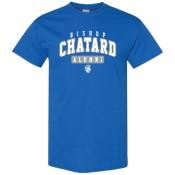 blue alumni sweatshirt